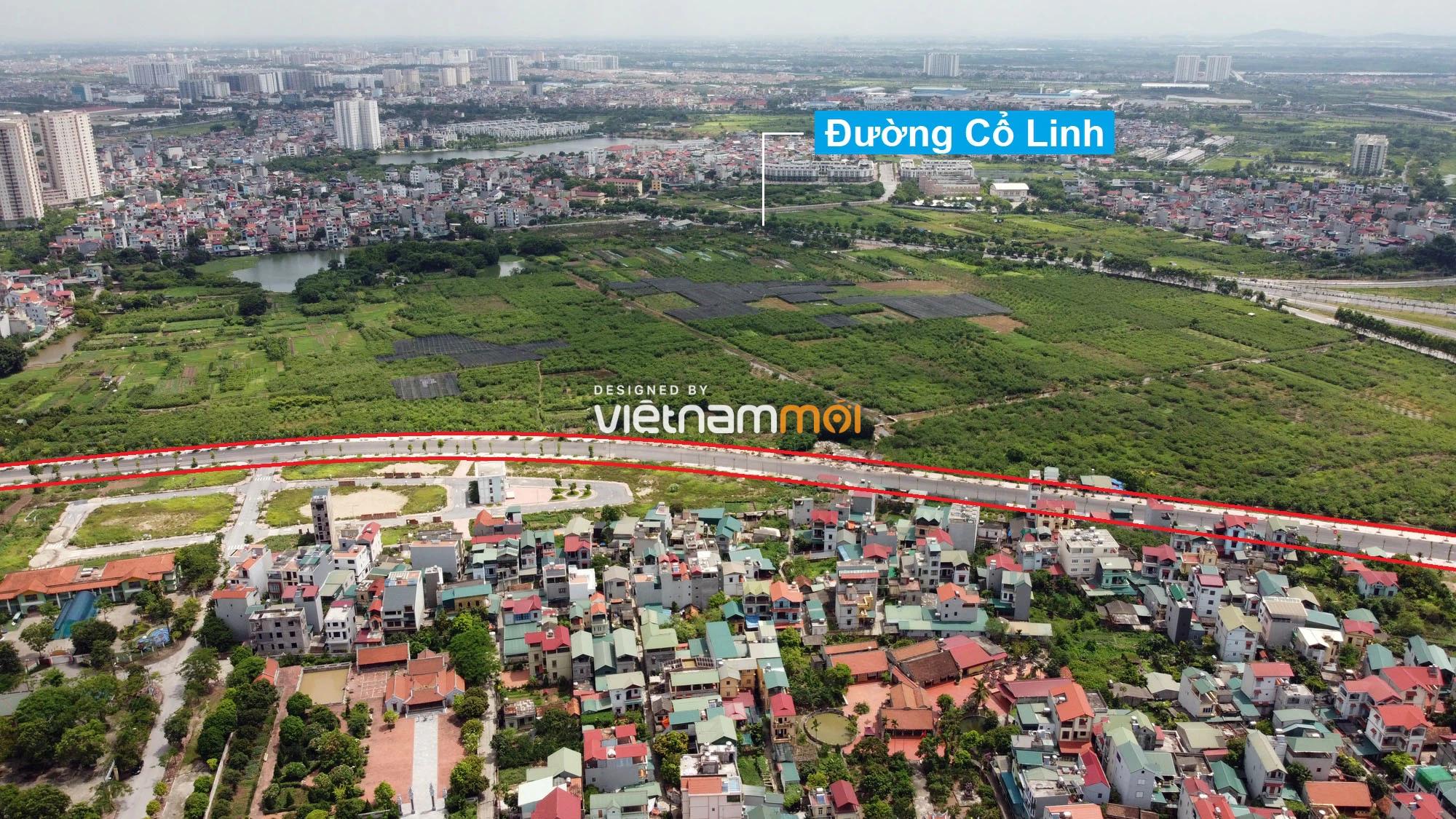 Toàn cảnh đường nối Bát Khối - QL1A đang mở theo quy hoạch ở quận Long Biên, Hà Nội - Ảnh 13.