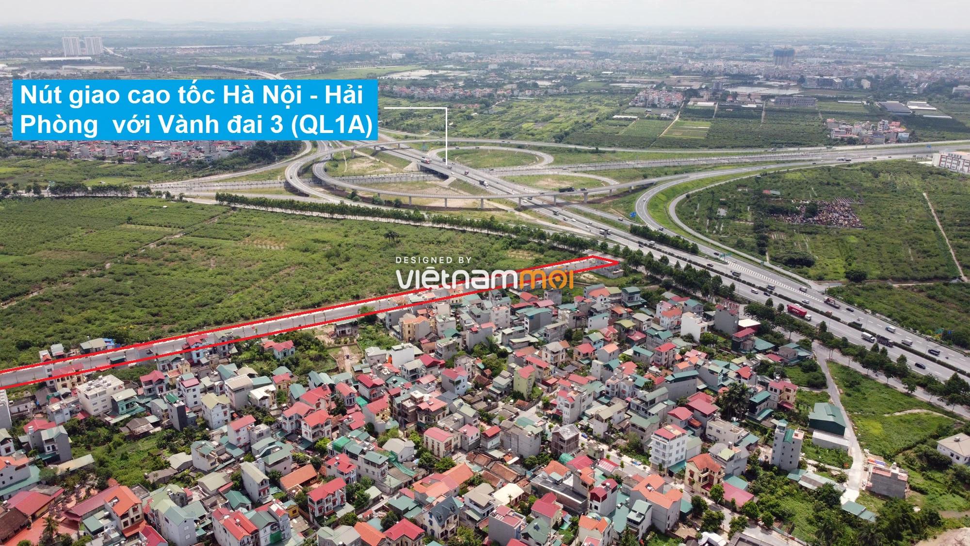 Toàn cảnh đường nối Bát Khối - QL1A đang mở theo quy hoạch ở quận Long Biên, Hà Nội - Ảnh 14.