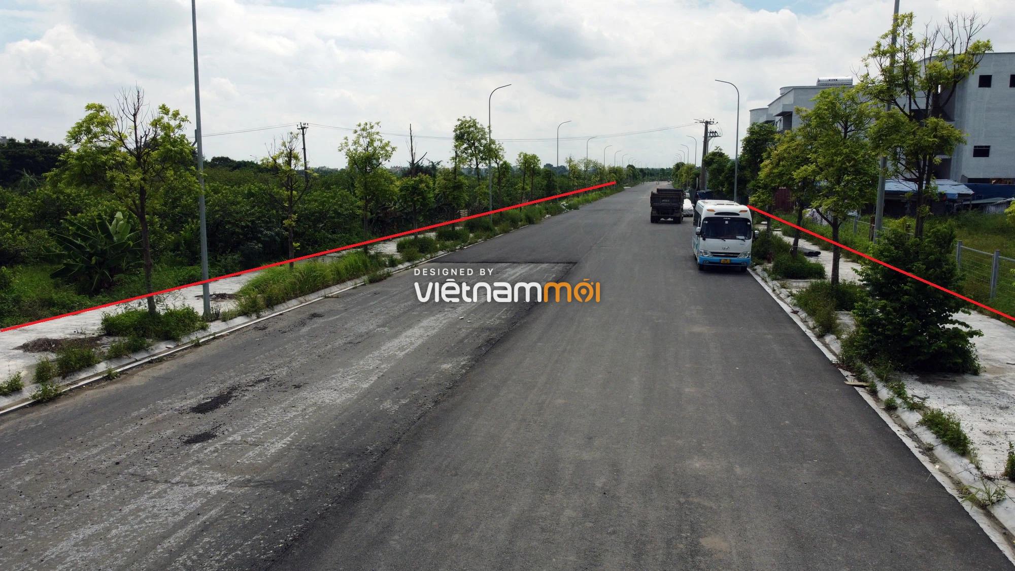 Toàn cảnh đường nối Bát Khối - QL1A đang mở theo quy hoạch ở quận Long Biên, Hà Nội - Ảnh 15.