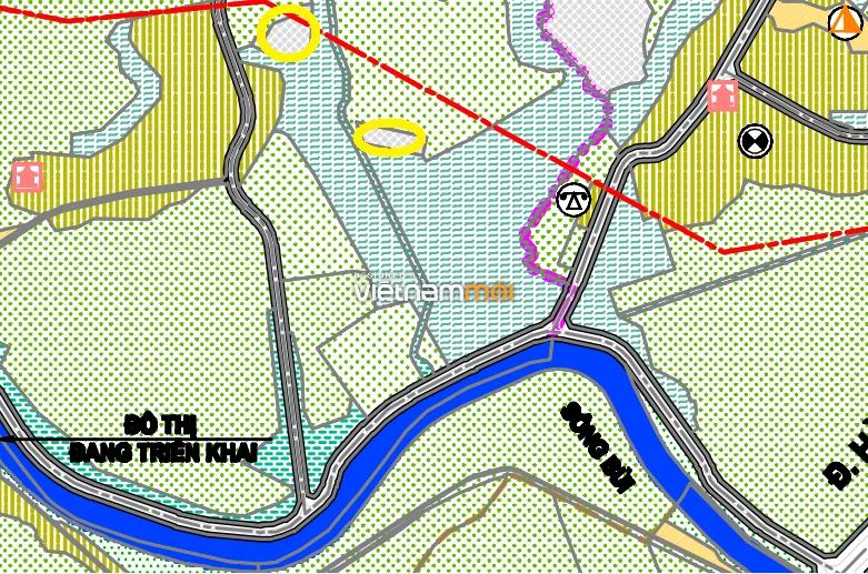 Đất dính quy hoạch ở xã Thanh Bình, Chương Mỹ, Hà Nội - Ảnh 1.