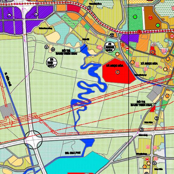Bản đồ quy hoạch giao thông xã Ngọc Hoà, Chương Mỹ, Hà Nội - Ảnh 2.