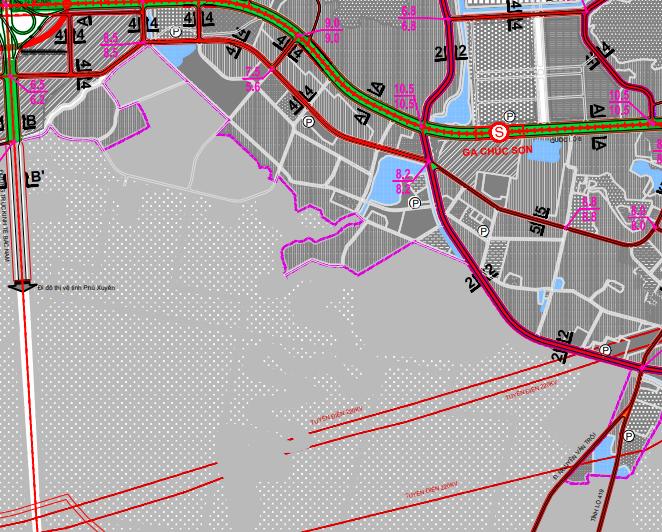 Bản đồ quy hoạch giao thông xã Ngọc Hoà, Chương Mỹ, Hà Nội - Ảnh 4.