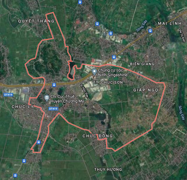 Kế hoạch sử dụng đất thị trấn Chúc Sơn, Chương Mỹ, Hà Nội năm 2021 - Ảnh 2.