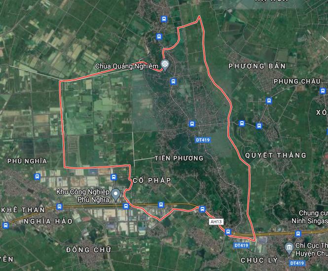 Kế hoạch sử dụng đất xã Tiên Phương, Chương Mỹ, Hà Nội năm 2021 - Ảnh 2.
