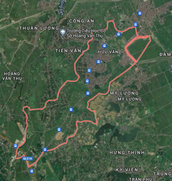 Kế hoạch sử dụng đất xã Hữu Văn, Chương Mỹ, Hà Nội năm 2021 - Ảnh 2.