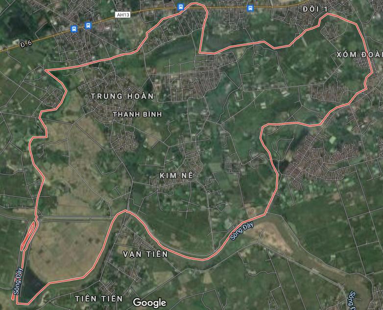 Bản đồ quy hoạch giao thông xã Thanh Bình, Chương Mỹ, Hà Nội - Ảnh 1.