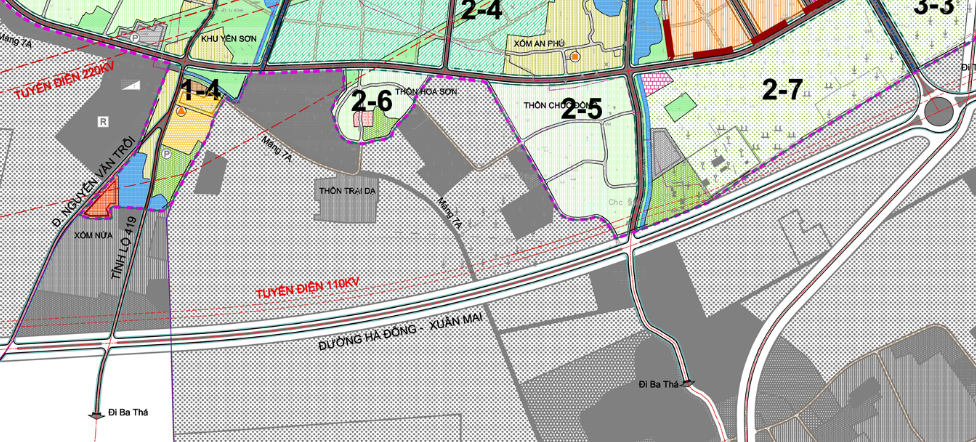 Bản đồ quy hoạch sử dụng đất xã Thuỵ Hương, Chương Mỹ, Hà Nội - Ảnh 2.