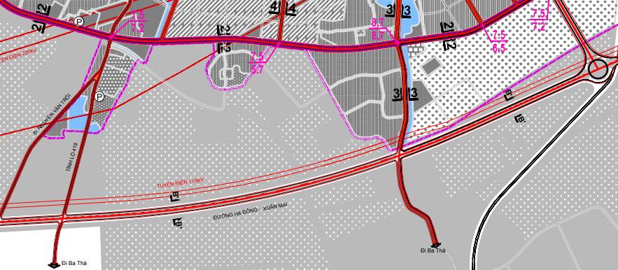 Bản đồ quy hoạch giao thông xã Thuỵ Hương, Chương Mỹ, Hà Nội - Ảnh 4.