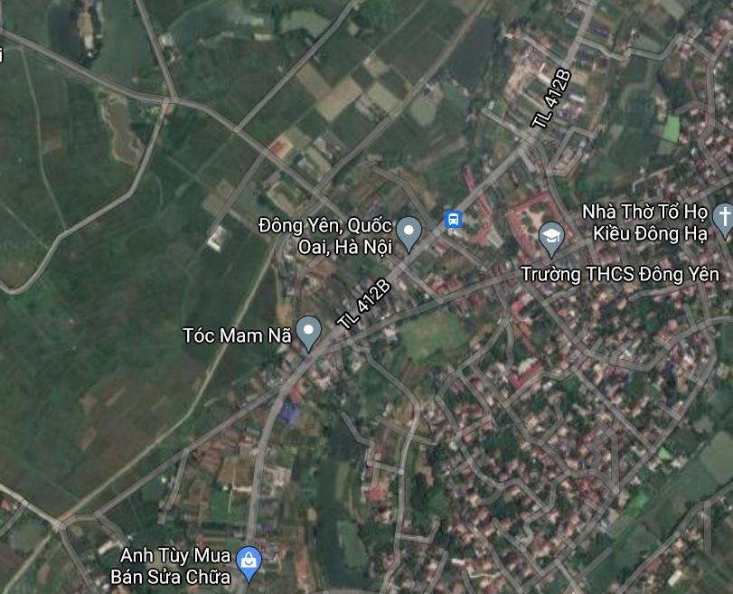 Đất dính quy hoạch ở xã Đông Yên, Quốc Oai, Hà Nội - Ảnh 2.
