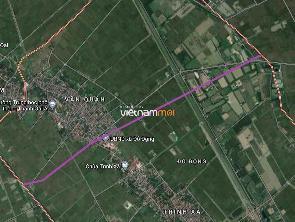 Đường sẽ mở ở xã Đỗ Động, Thanh Oai, Hà Nội - Ảnh 2.