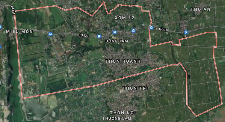 Đường sẽ mở ở xã Đồng Tâm, Mỹ Đức, Hà Nội - Ảnh 3.