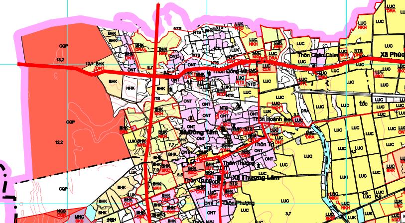 Bản đồ quy hoạch giao thông xã Đồng Tâm, Mỹ Đức, Hà Nội - Ảnh 2.
