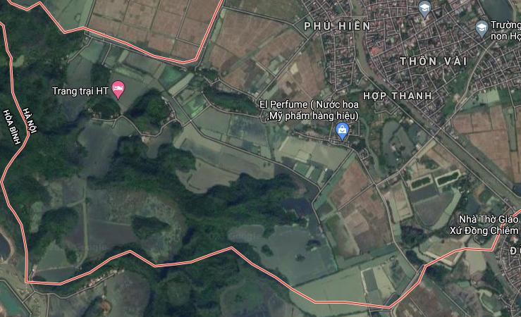 Đất dính quy hoạch ở xã Hợp Thanh, Mỹ Đức, Hà Nội - Ảnh 3.