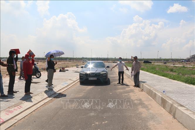 Mở rộng đường khu tái định cưLộc An - Bình Sơn phục vụ sân bay Long Thành - Ảnh 1.