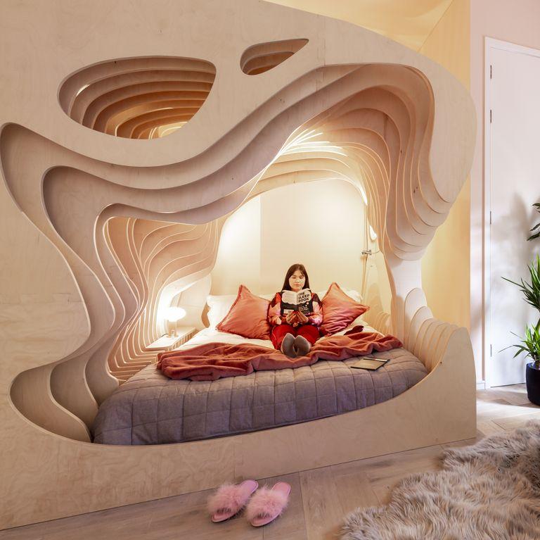 Phòng ngủ tổ kén độc lạ, thiết kế hoàn hảo cho một giấc ngủ ngon - Ảnh 2.