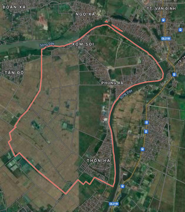 Kế hoạch sử dụng đất xã Phùng Xá, Mỹ Đức, Hà Nội năm 2021 - Ảnh 2.