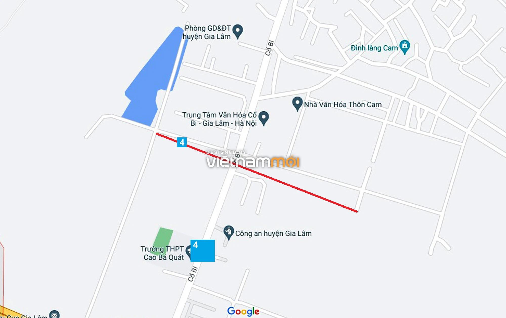 Đường sẽ mở theo quy hoạch ở xã Cổ Bi, Gia Lâm, Hà Nội (phần 2) - Ảnh 1.