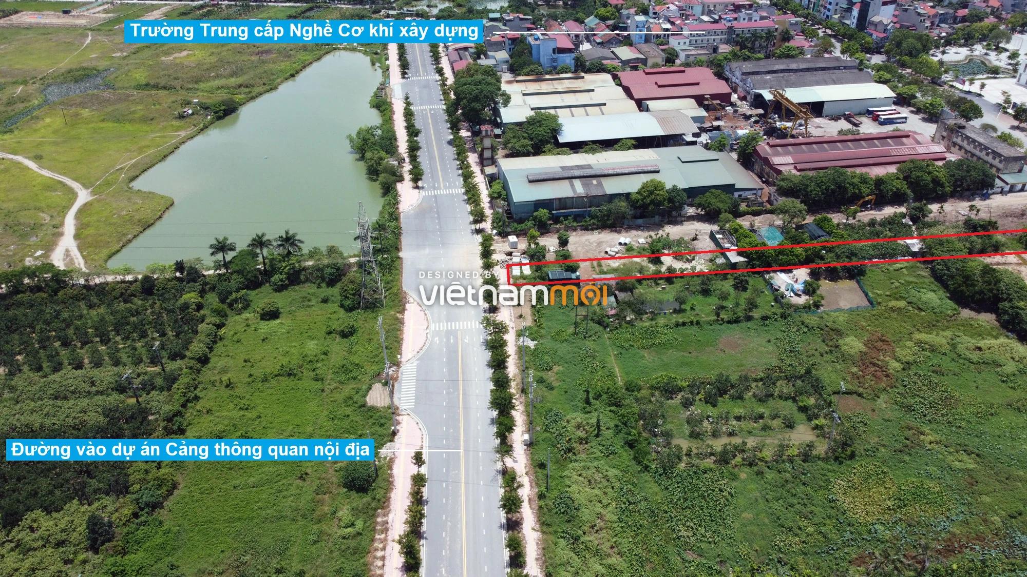 Đường sẽ mở theo quy hoạch ở xã Cổ Bi, Gia Lâm, Hà Nội (phần 2) - Ảnh 2.