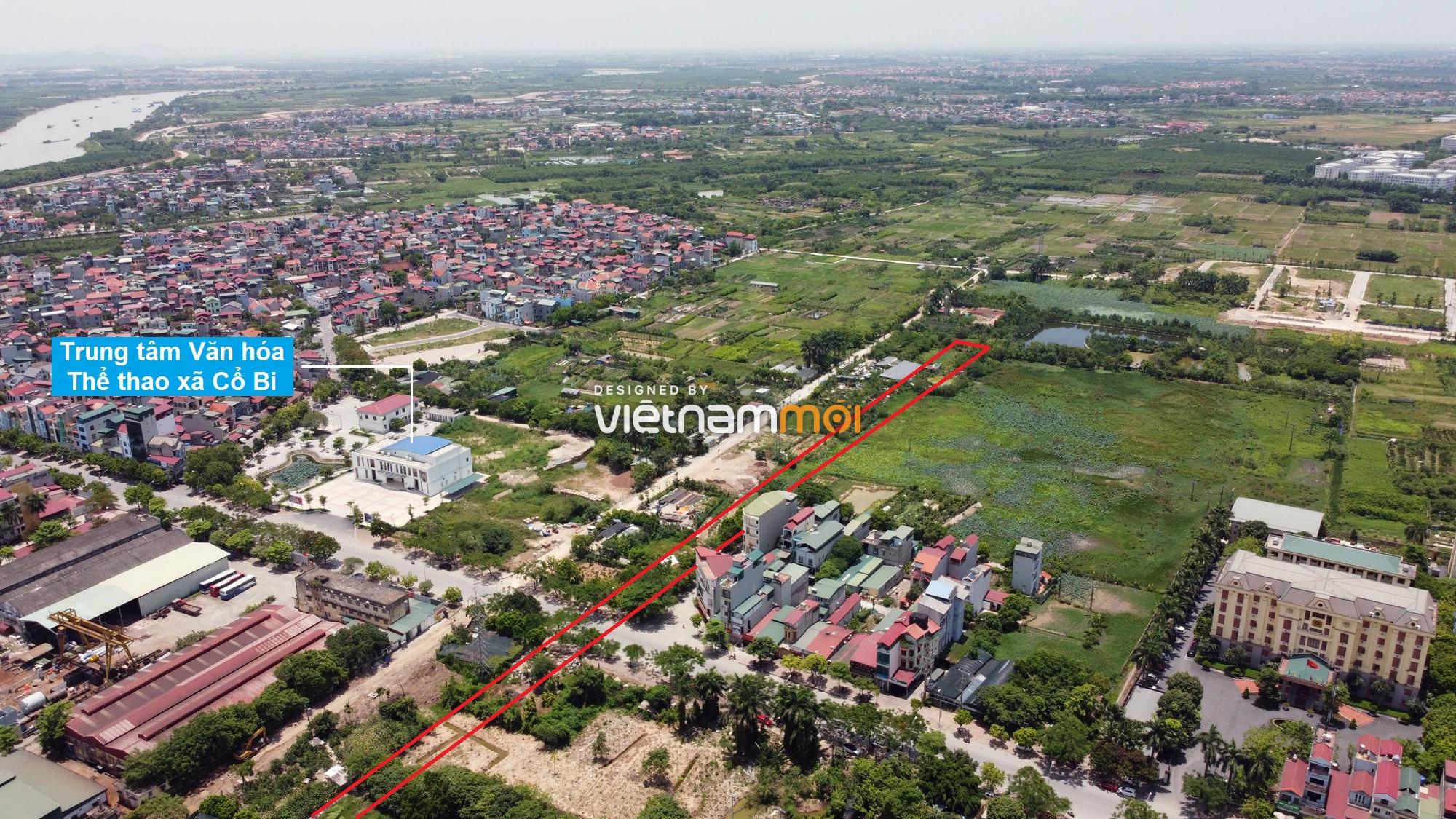 Đường sẽ mở theo quy hoạch ở xã Cổ Bi, Gia Lâm, Hà Nội (phần 2) - Ảnh 3.