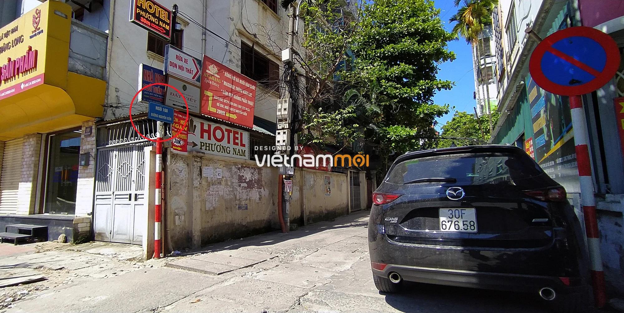 Toàn cảnh tuyến đường vào cụm ba trường Thanh Xuân Nam đang mở theo quy hoạch ở Hà Nội - Ảnh 8.