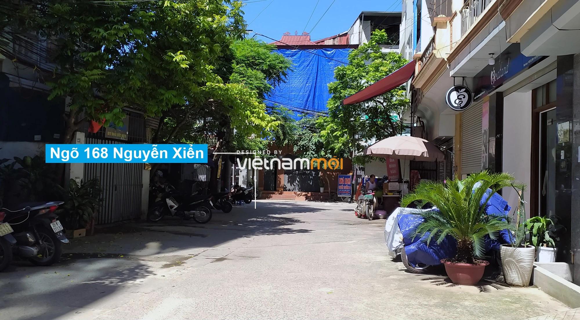 Toàn cảnh tuyến đường vào cụm ba trường Thanh Xuân Nam đang mở theo quy hoạch ở Hà Nội - Ảnh 9.