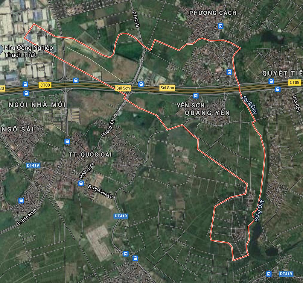 Kế hoạch sử dụng đất xã Yên Sơn, Quốc Oai, Hà Nội năm 2021 - Ảnh 1.