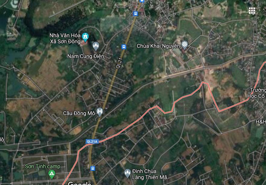 Đất dính quy hoạch ở xã Sơn Đông, thị xã Sơn Tây, thành phố Hà Nội - Ảnh 3.