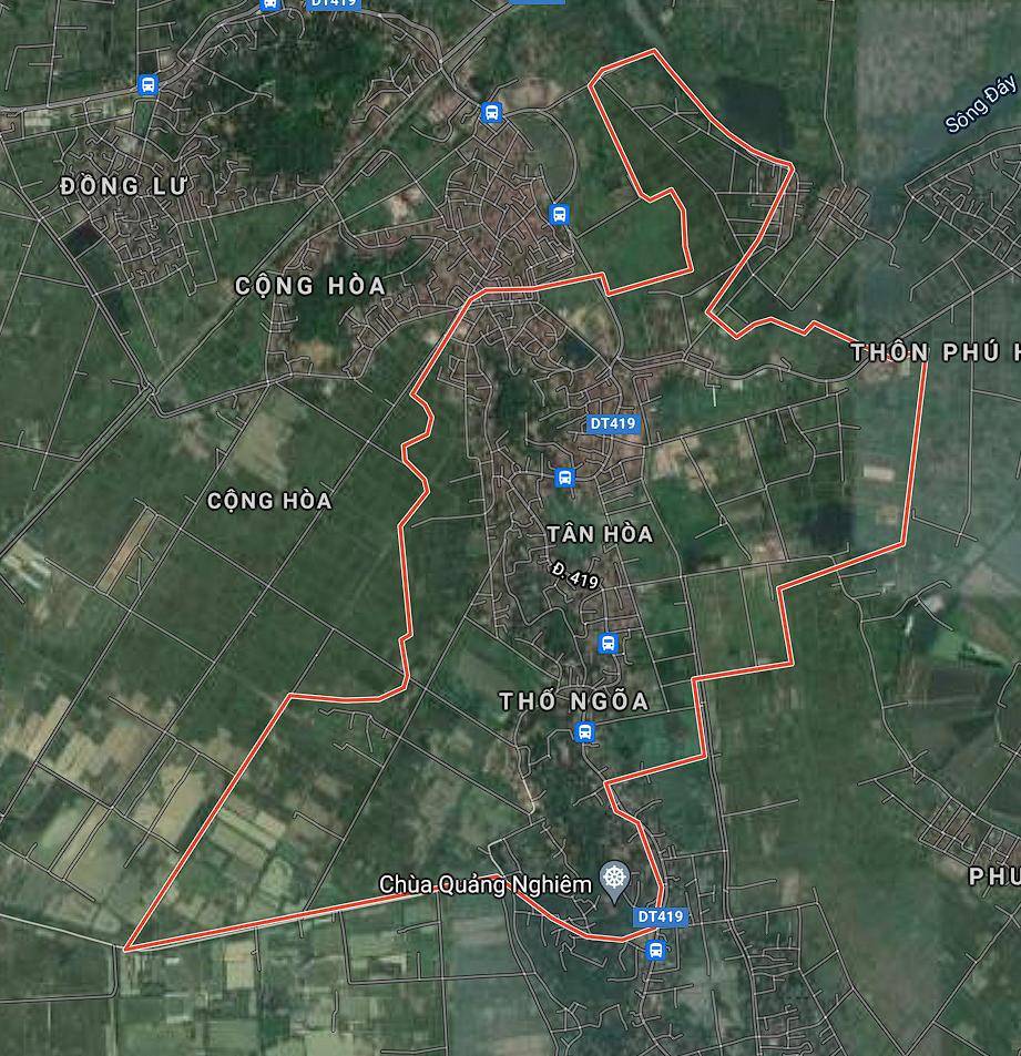Kế hoạch sử dụng đất xã Tân Hòa, Quốc Oai, Hà Nội năm 2021 - Ảnh 1.