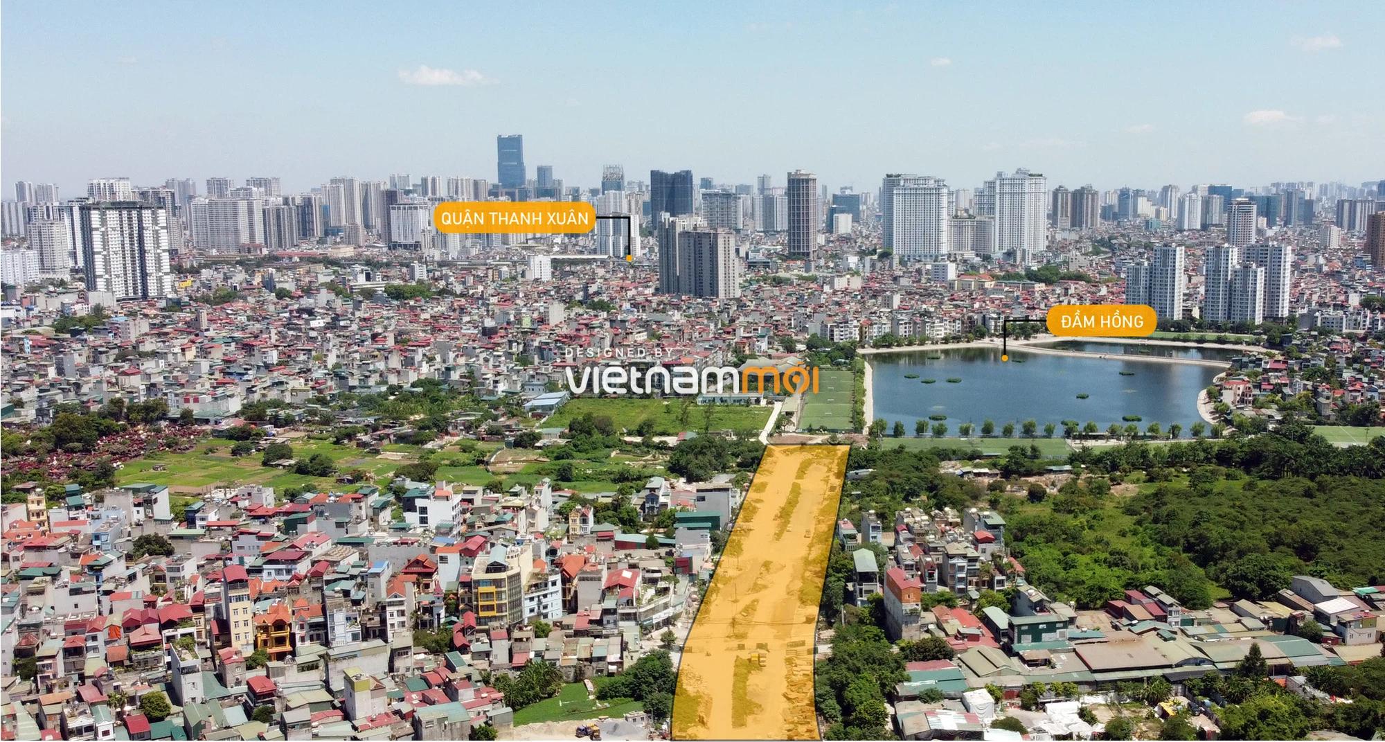 Vành đai 2,5 sẽ mở theo quy hoạch qua quận Hoàng Mai, Hà Nội - Ảnh 1.