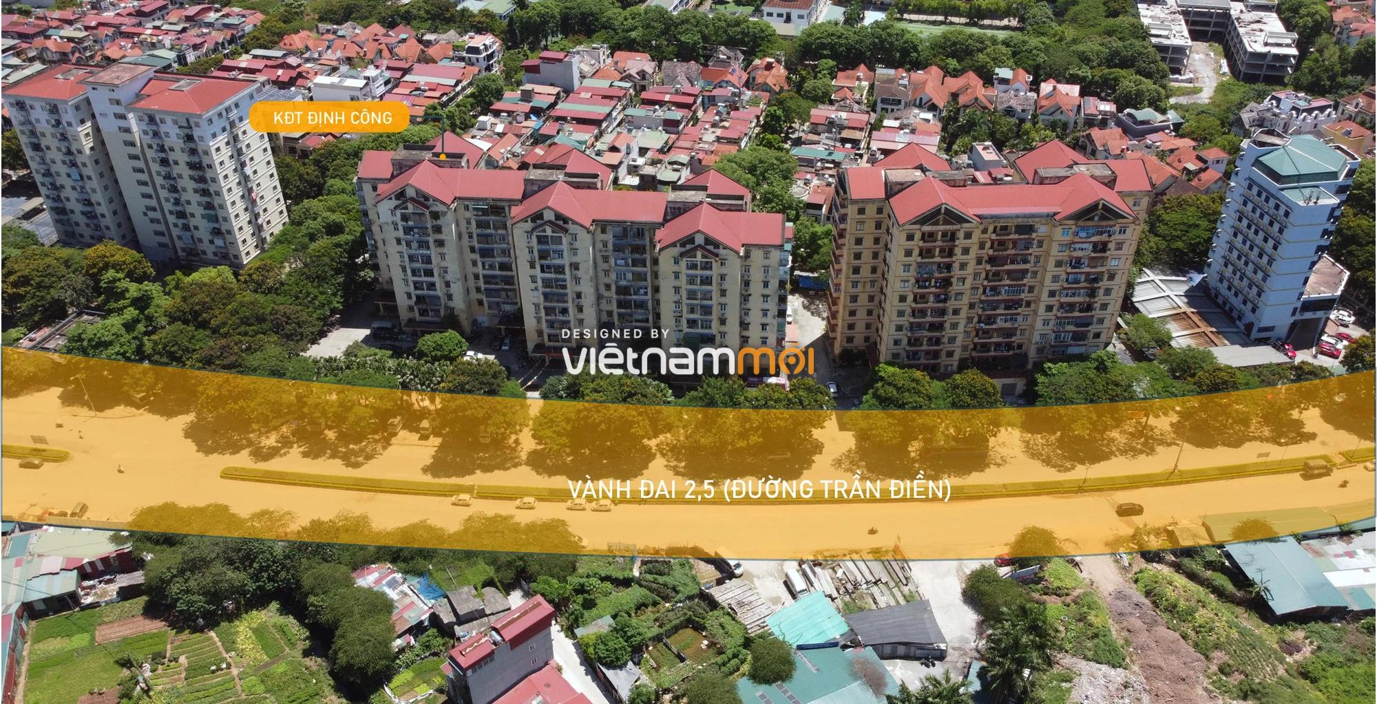 Vành đai 2,5 sẽ mở theo quy hoạch qua quận Hoàng Mai, Hà Nội - Ảnh 4.
