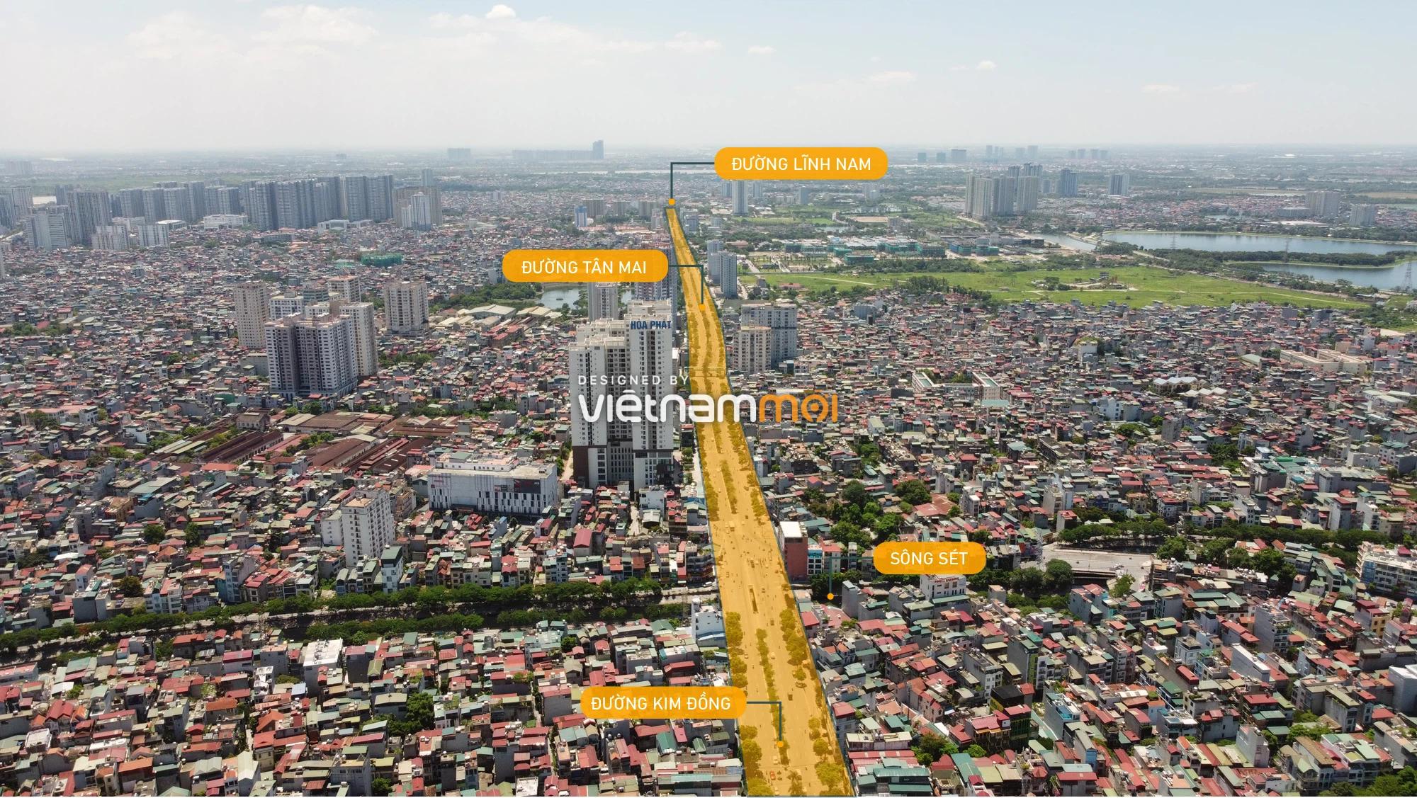 Vành đai 2,5 sẽ mở theo quy hoạch qua quận Hoàng Mai, Hà Nội - Ảnh 10.