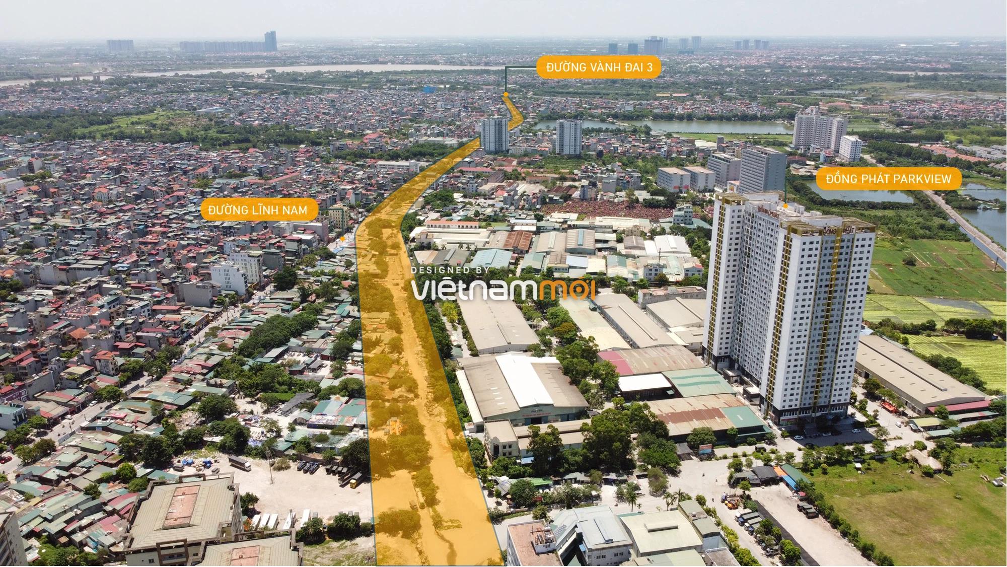 Vành đai 2,5 sẽ mở theo quy hoạch qua quận Hoàng Mai, Hà Nội - Ảnh 14.