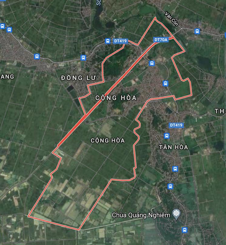 Kế hoạch sử dụng đất xã Cộng Hòa, Quốc Oai, Hà Nội năm 2021 - Ảnh 1.