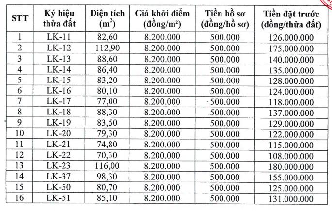 Chương Mỹ, Hà Nội đấu giá 26 thửa đất, khởi điểm 8,2 triệu đồng/m2 - Ảnh 1.