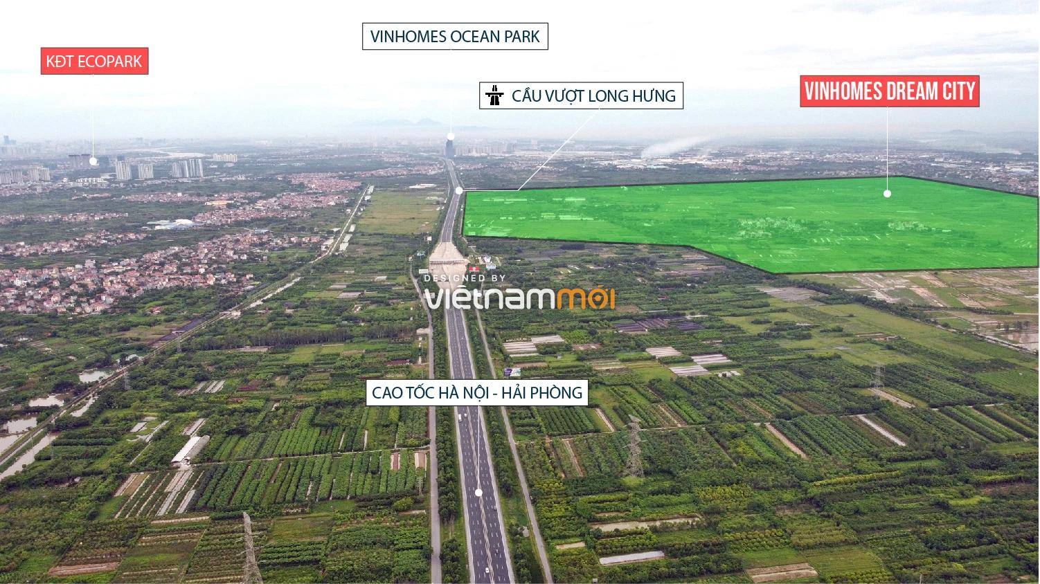 Toàn cảnh ba đại dự án Vinhomes Wonder Park, Vinhomes Cổ Loa và Vinhomes Dream City sắp ra mắt - Ảnh 2.
