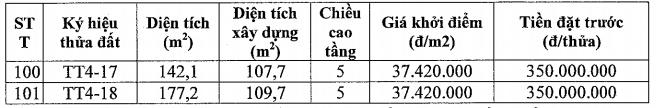 Đấu giá 101 thửa đất tại quận Long Biên, Hà Nội, giá khởi điểm từ 36 triệu đồng/m2 - Ảnh 4.