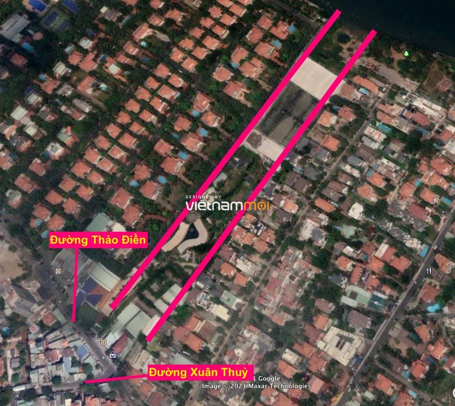Đường sẽ mở theo quy hoạch ở phường Thảo Điền, Quận 2, TP HCM (phần 1) - Ảnh 3.