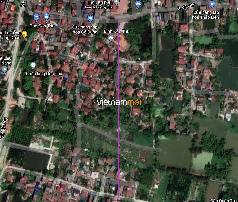 Đường sẽ mở ở xã Kim Thư, Thanh Oai, Hà Nội - Ảnh 2.