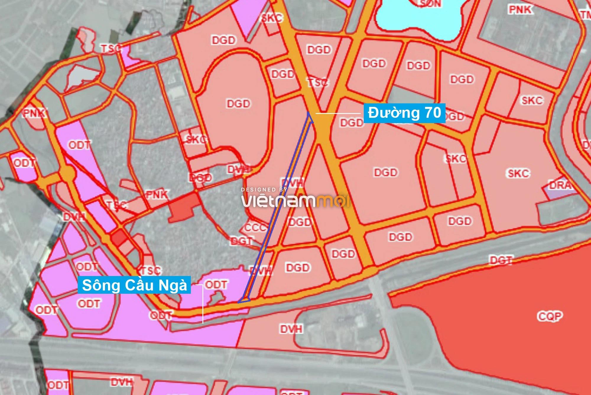 Những khu đất sắp thu hồi để mở đường ở phường Tây Mỗ, Nam Từ Liêm, Hà Nội (phần 4) - Ảnh 1.