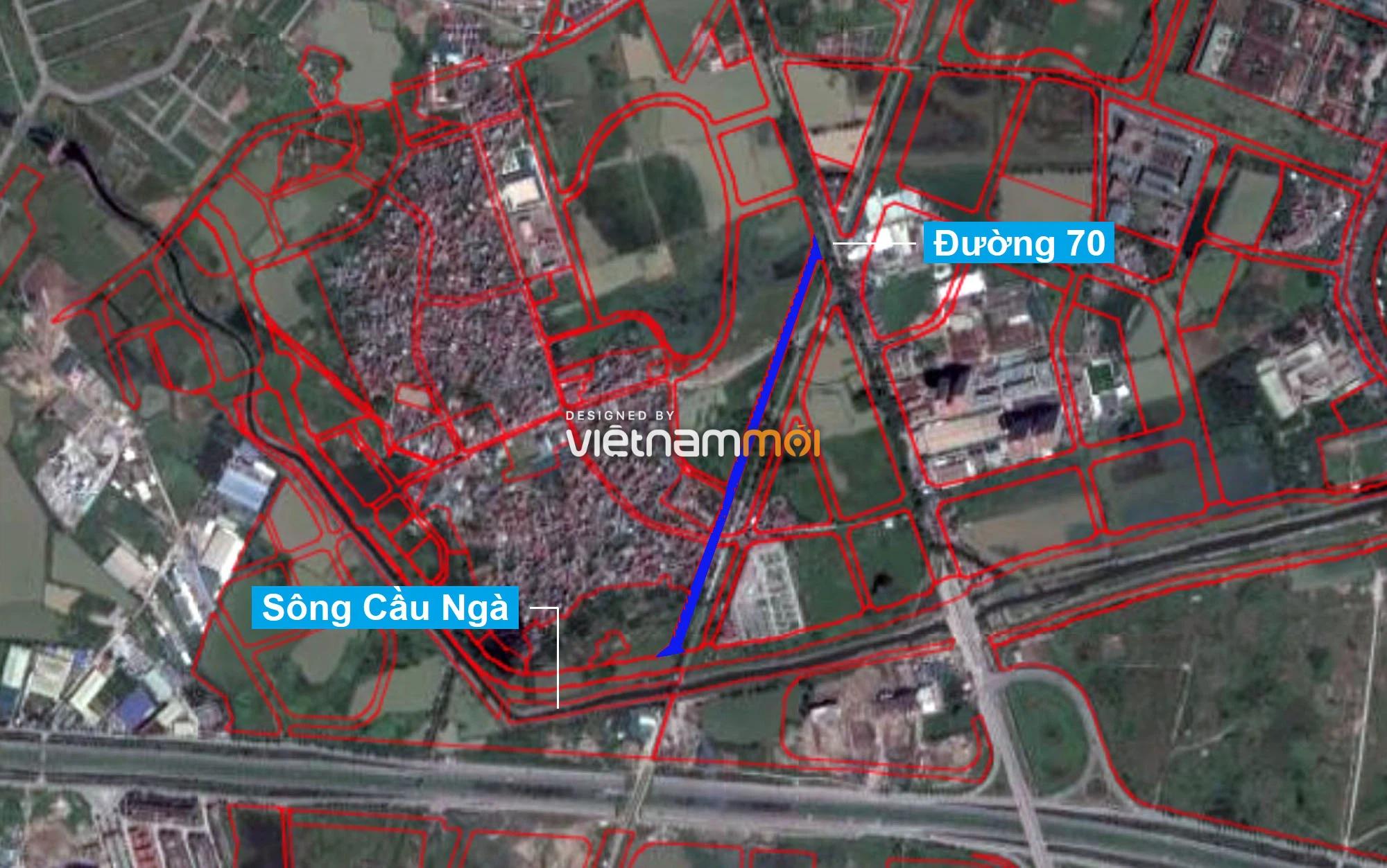 Những khu đất sắp thu hồi để mở đường ở phường Tây Mỗ, Nam Từ Liêm, Hà Nội (phần 4) - Ảnh 2.