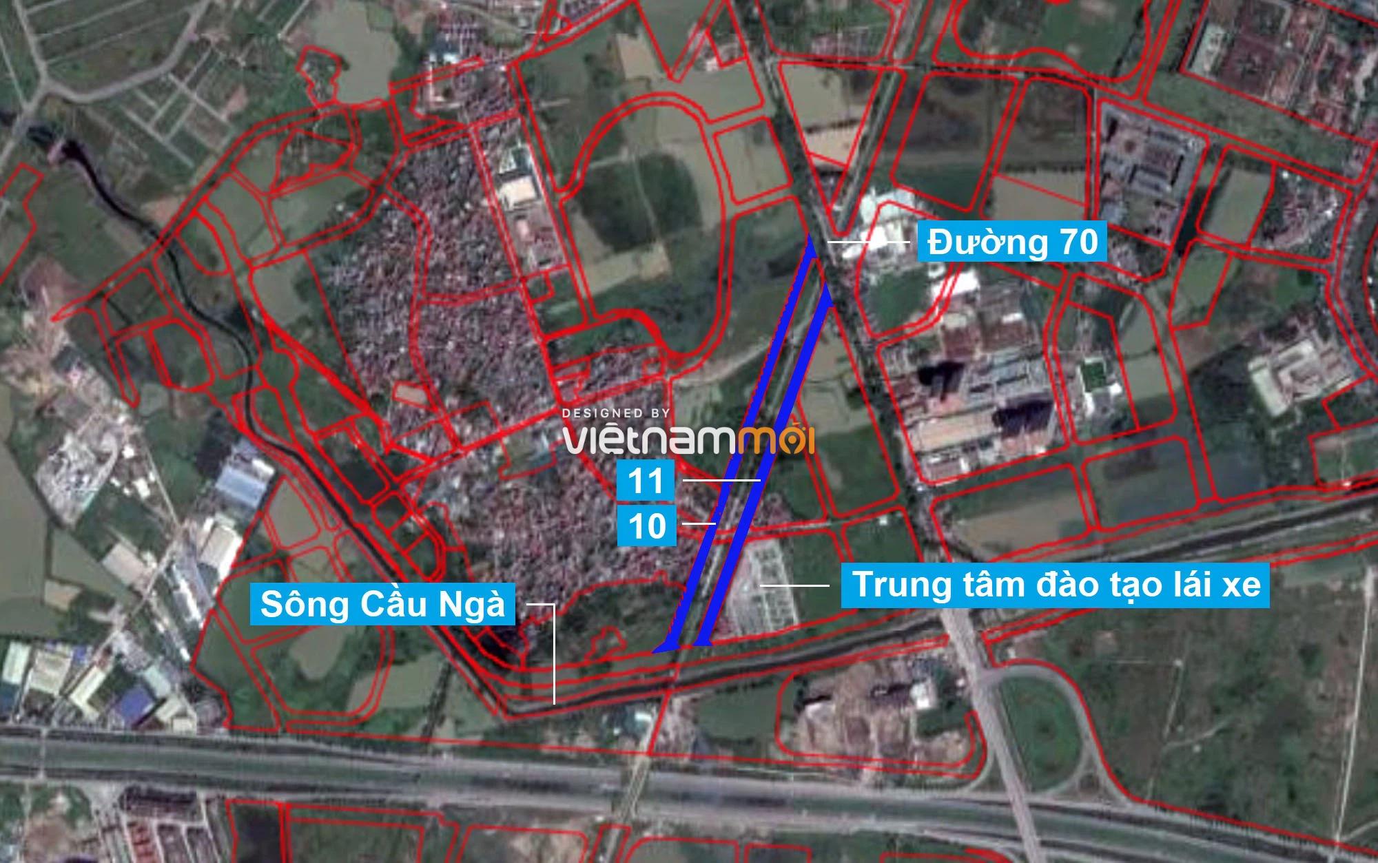 Những khu đất sắp thu hồi để mở đường ở phường Tây Mỗ, Nam Từ Liêm, Hà Nội (phần 4) - Ảnh 7.