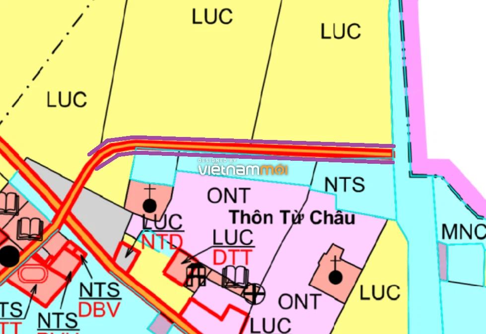 Đường sẽ mở ở xã Liên Châu, Thanh Oai, Hà Nội - Ảnh 1.