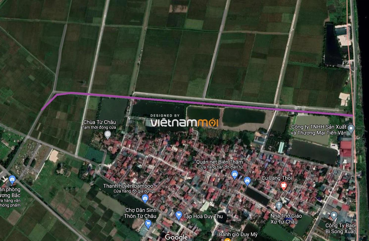 Đường sẽ mở ở xã Liên Châu, Thanh Oai, Hà Nội - Ảnh 2.
