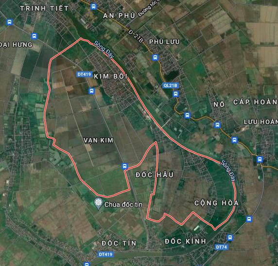 Kế hoạch sử dụng đất xã Vạn Kim, Mỹ Đức, Hà Nội năm 2021 - Ảnh 2.