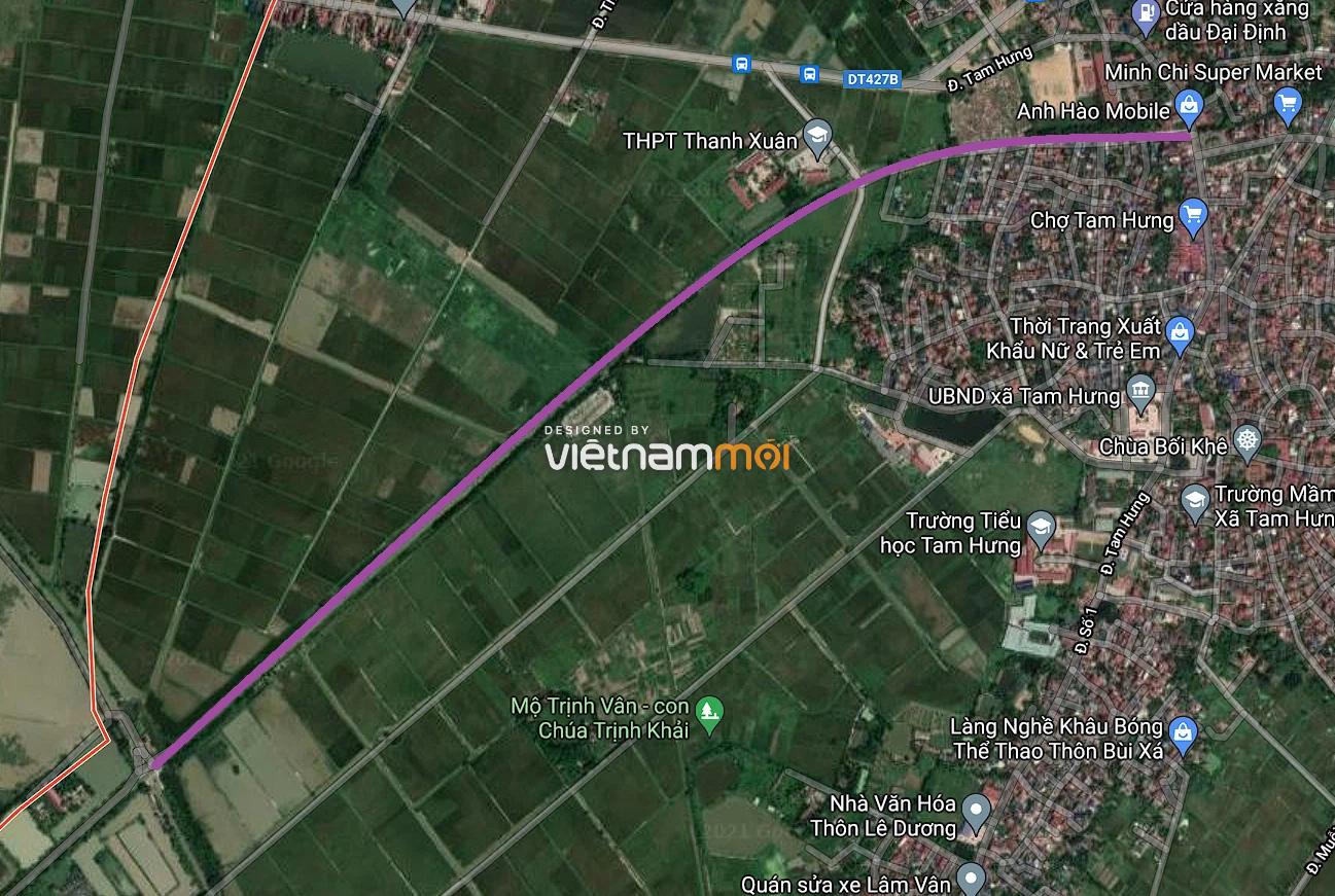 Đường sẽ mở ở xã Tam Hưng, Thanh Oai, Hà Nội - Ảnh 2.