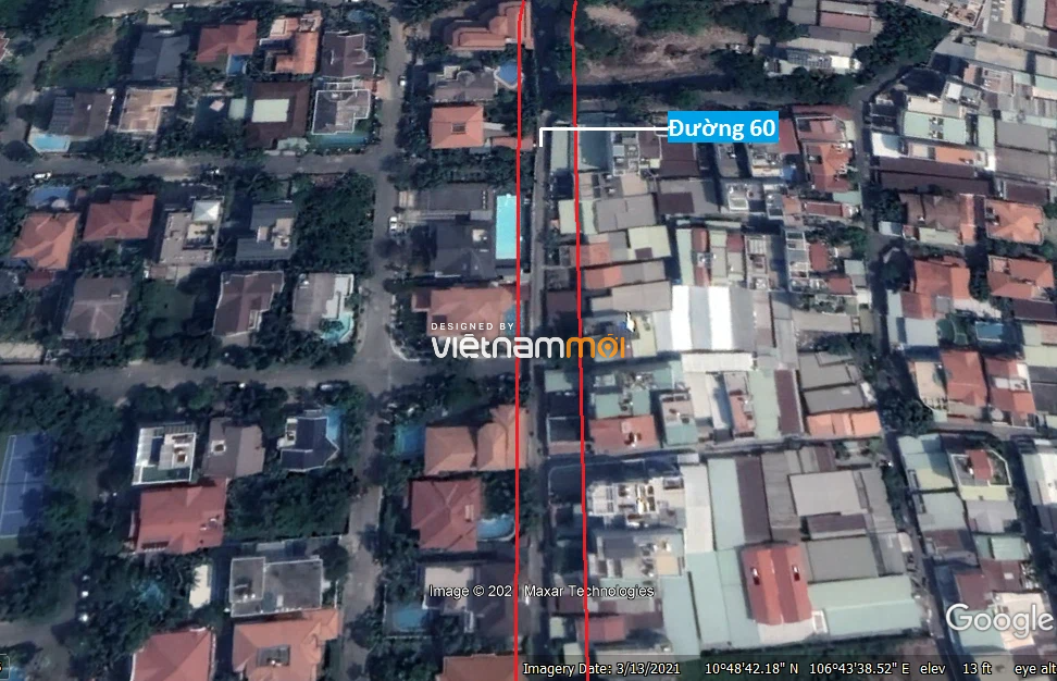 Đường sẽ mở theo quy hoạch ở phường Thảo Điền, Quận 2, TP HCM (phần 1) - Ảnh 7.