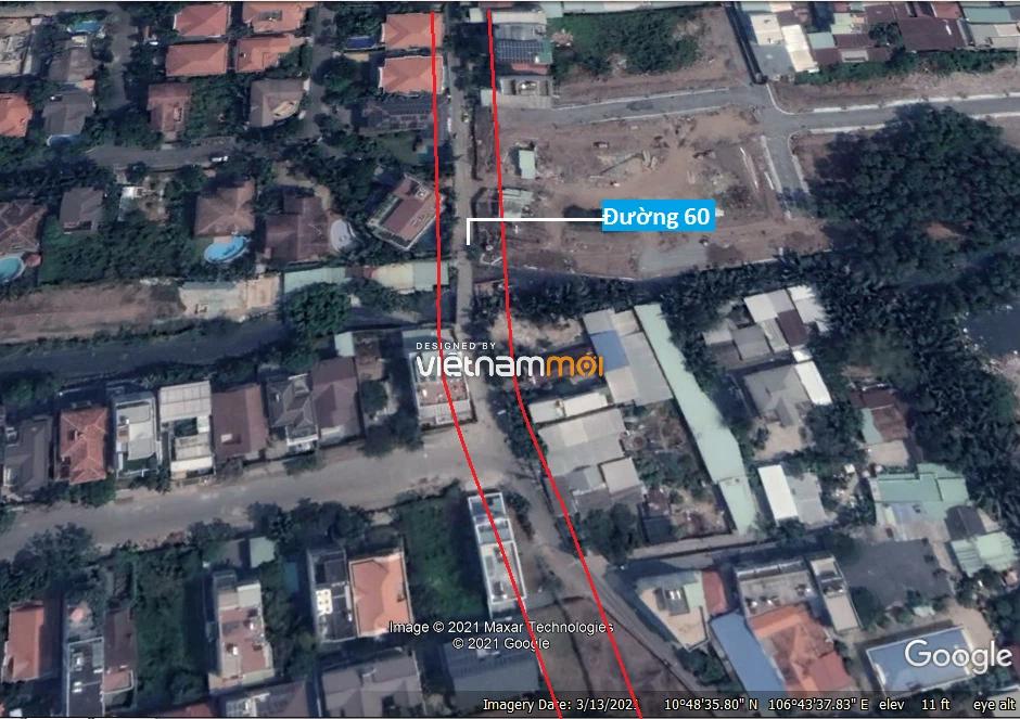 Đường sẽ mở theo quy hoạch ở phường Thảo Điền, Quận 2, TP HCM (phần 1) - Ảnh 8.