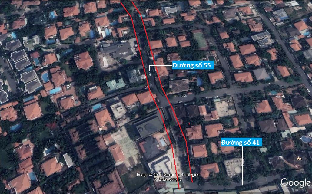 Đường sẽ mở theo quy hoạch ở phường Thảo Điền, Quận 2, TP HCM (phần 1) - Ảnh 10.
