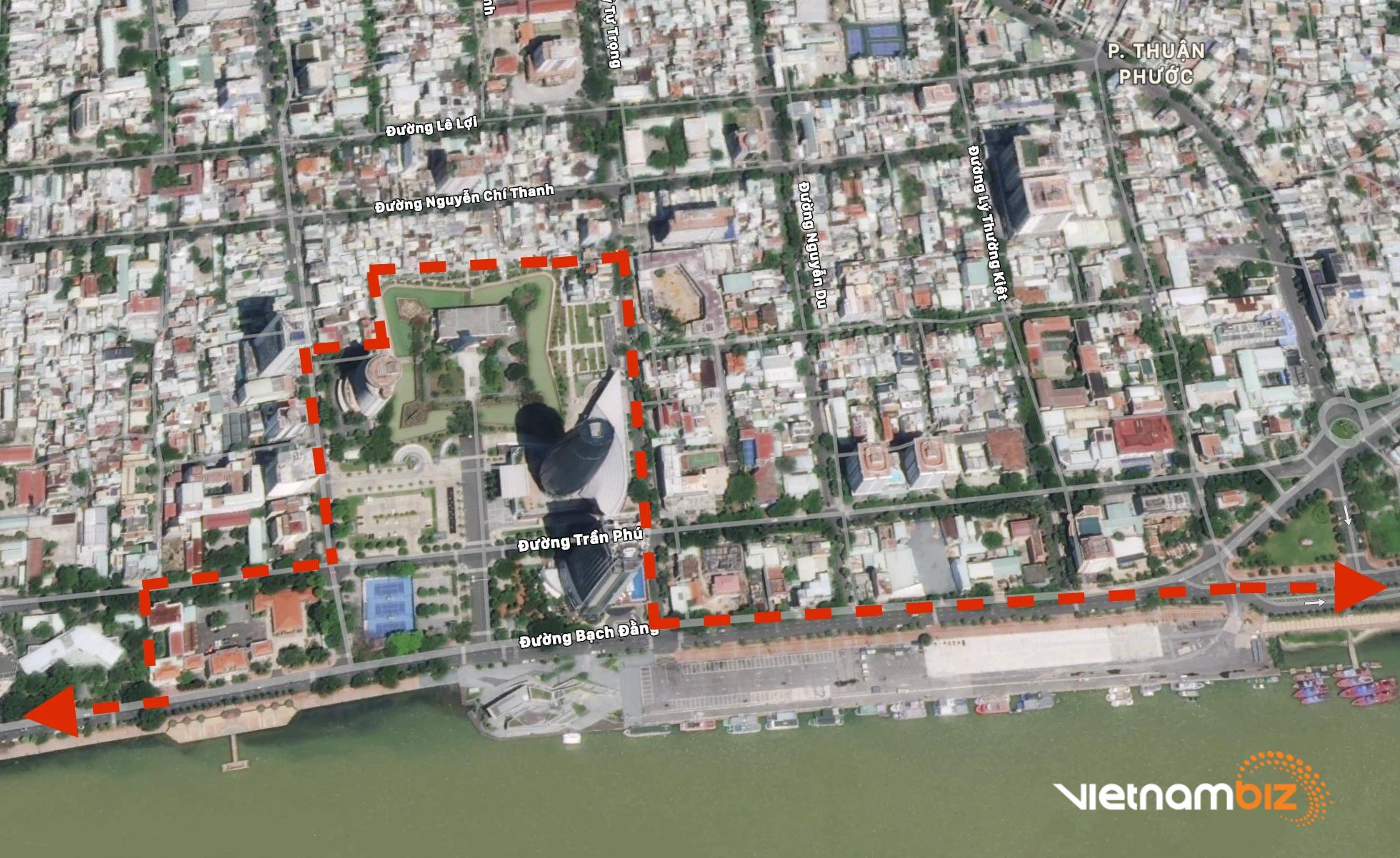 Đất vàng trung tâm Đà Nẵng làm quảng trường - Ảnh 2.
