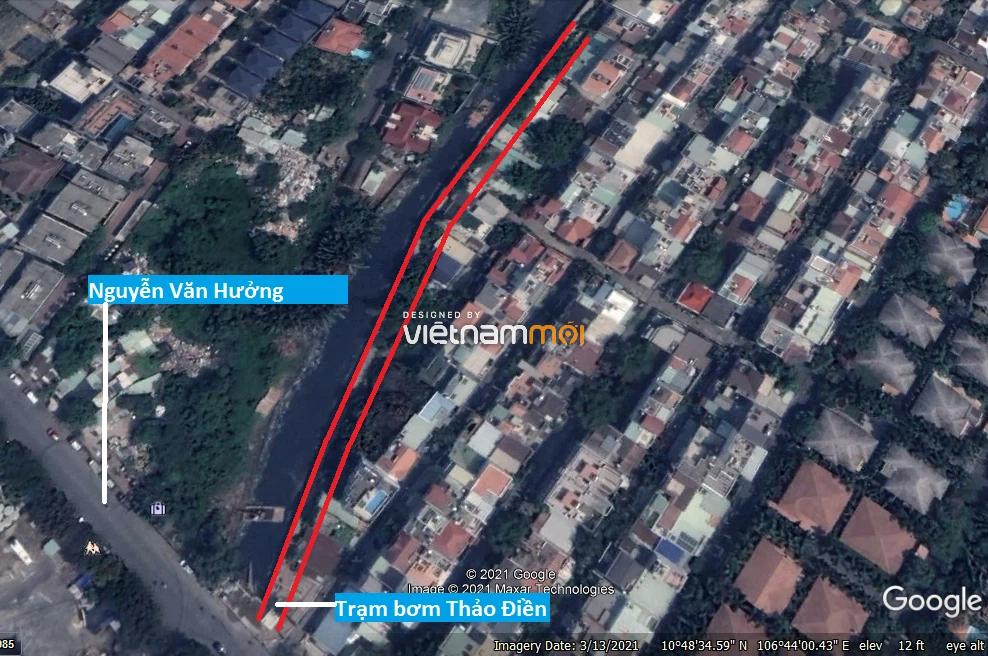 Đường sẽ mở theo quy hoạch ở phường Thảo Điền, Quận 2, TP HCM (phần 2) - Ảnh 2.